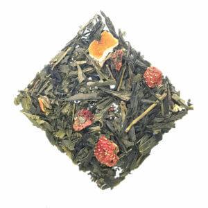Strawberry Fields Green Tea