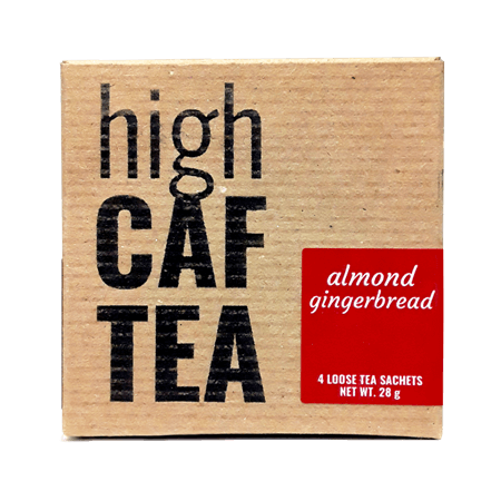 Almond Gingerbread High Caffeine Tea