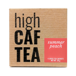 Summer Peach High Caffeine Tea