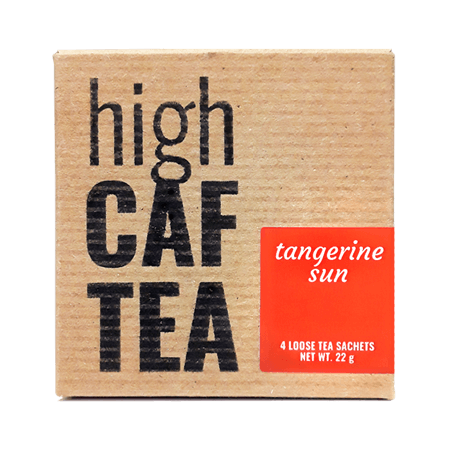 Tangerine Sun High Caffeine Tea
